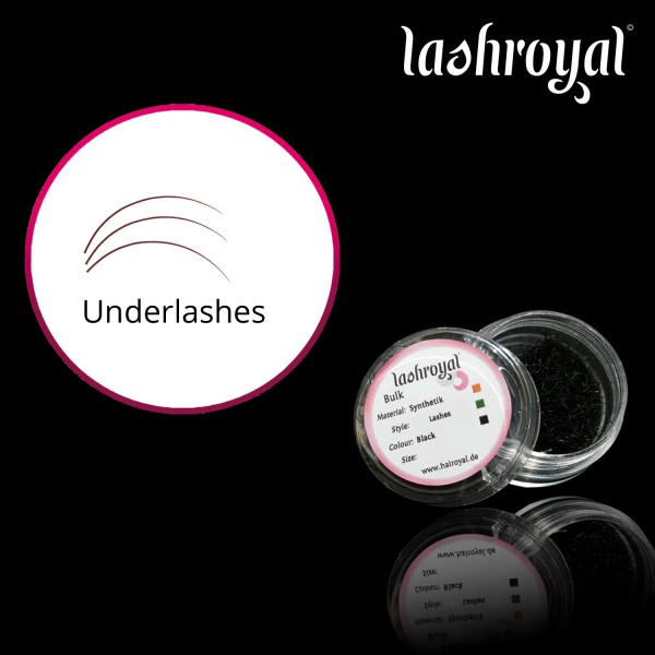 Lashroyal Underlashes - 1200 Pieces - for the lower lashline