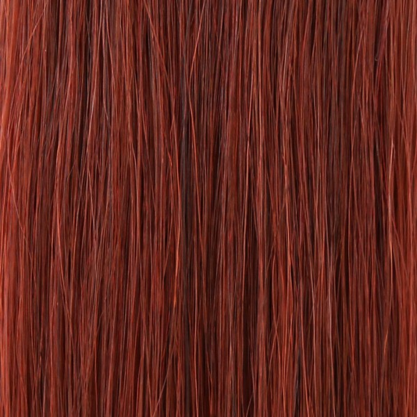 she by SO.CAP. Tape Extensions #35 - 35/40 cm (deep red)