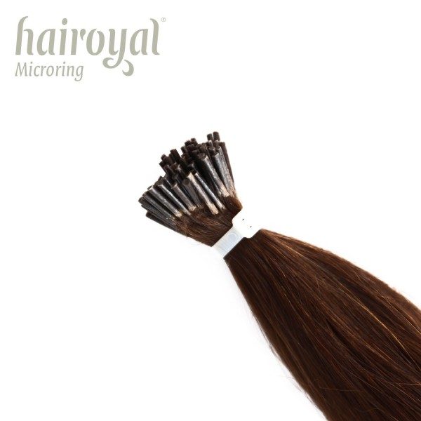 Hairoyal Microring-Extensions #4 straight (chestnut)