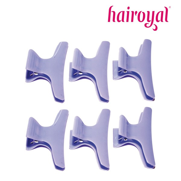 Hairoyal Section Clips 6 Pieces