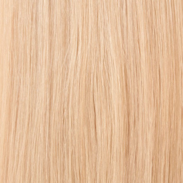 Hairoyal SkinWeft #1001 straight (platinum blonde)