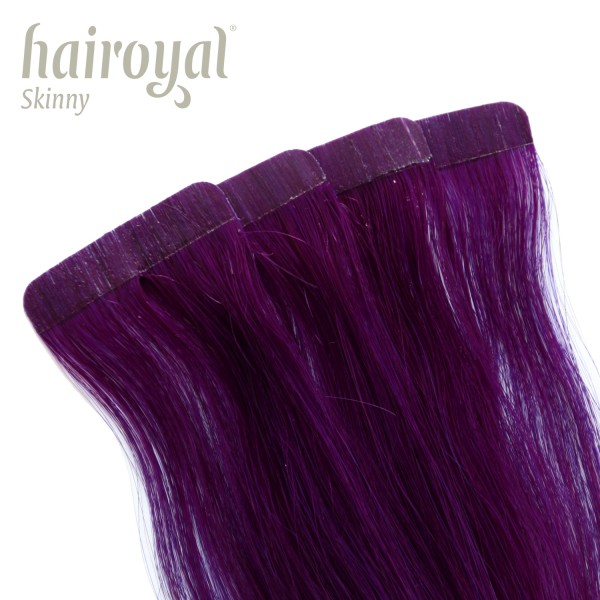 Hairoyal Skinny's - Tape Extensions straight #Violet