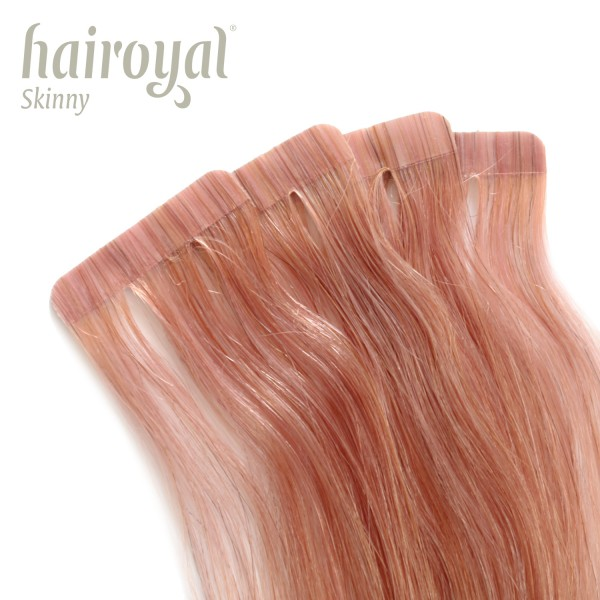 Hairoyal Skinny's - Tape Extensions straight #Pearl