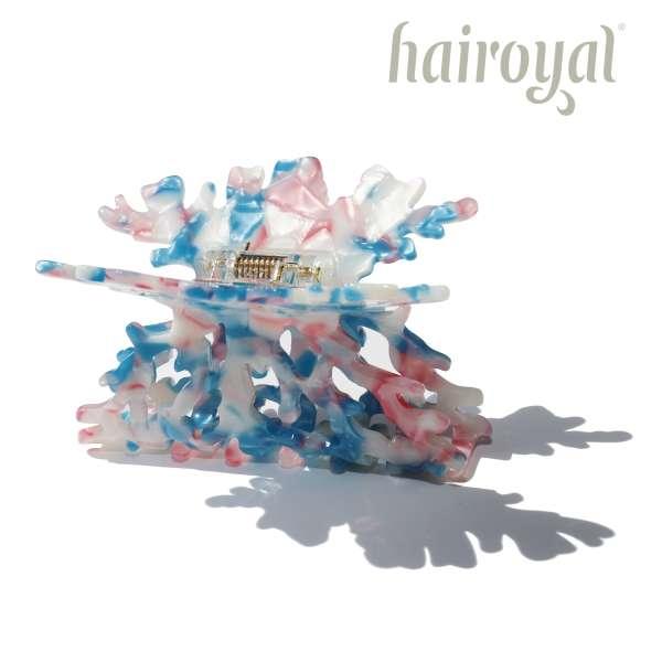 Hairclip Coral #turqousie-mix