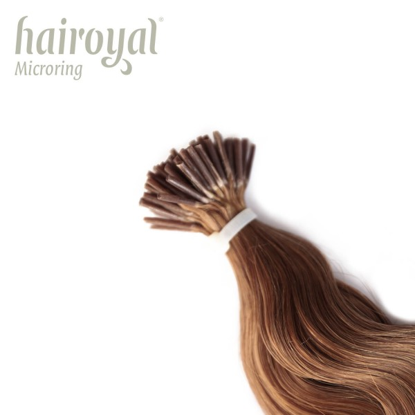 Hairoyal Microring-Extensions #14 wavy (light blonde)
