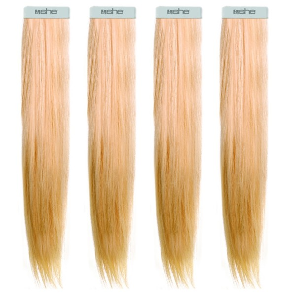 she by SO.CAP. Tape Extensions #19 - 50/60 cm (light blonde nature sand)