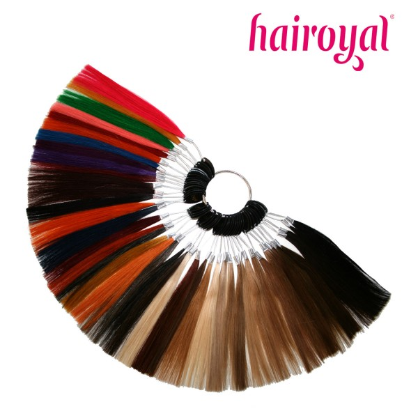 Hairoyal Human Hair Colour Ring with 43 Colours