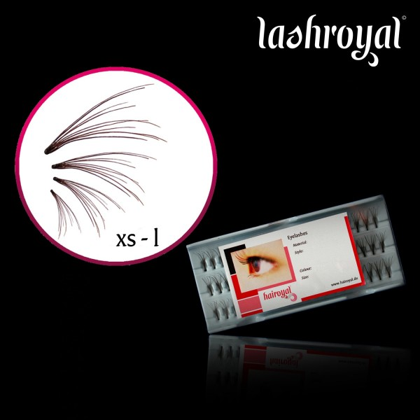 Lashroyal Flares (Wimpernfächer 8 in One)