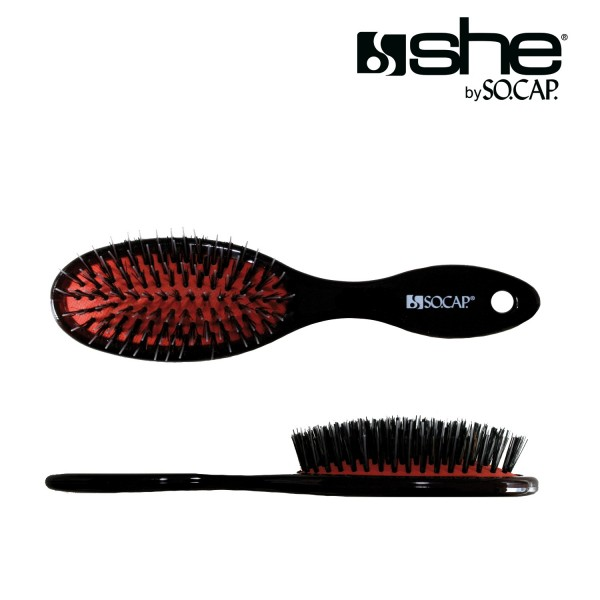 she by SO.CAP. Hair Extensions Pneumatic Brush S (4,5 x 19 cm)