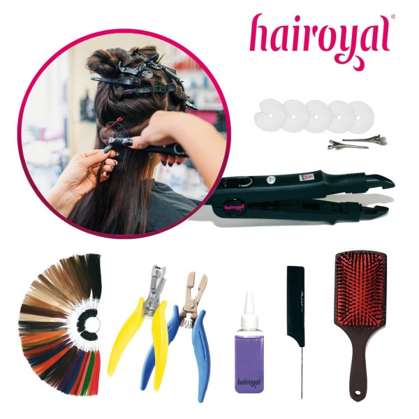 Hairoyal Starterset incl. Heating Clamp and Equipment