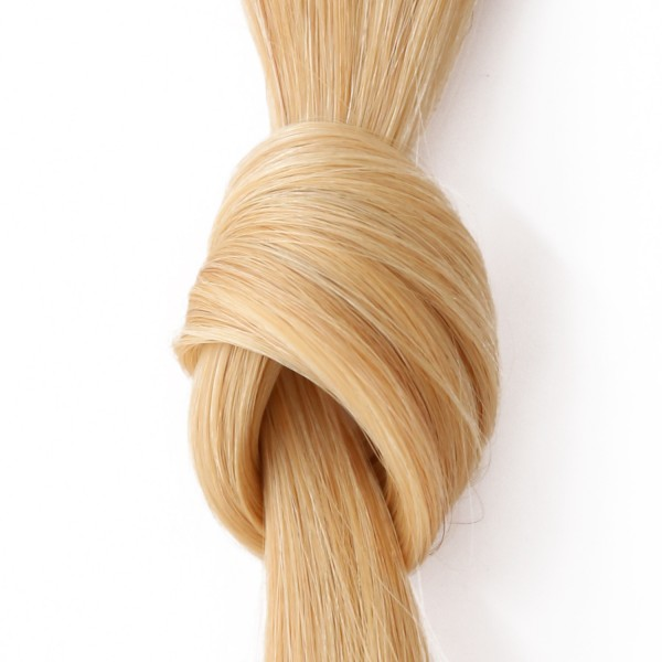she by SO.CAP. Extensions #DB3/20 - 40/45 cm straight bicolour (golden blonde/very light ultra blonde)
