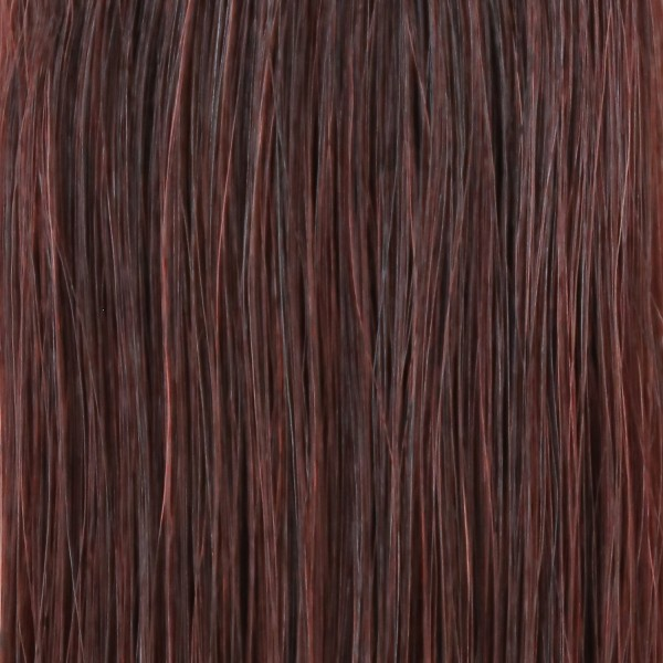 she by SO.CAP. Extensions #32 wavy 50/60 cm (mahagony chestnut)