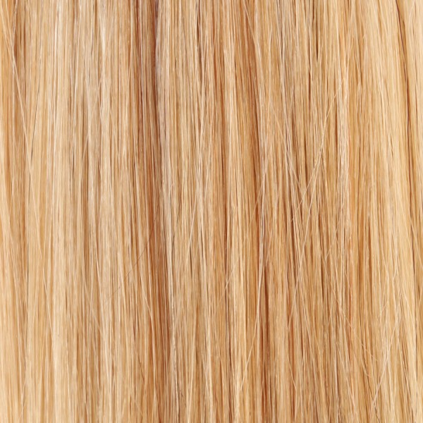 Hairoyal Microring-Extensions #140 straight (light blonde/golden blonde streak)