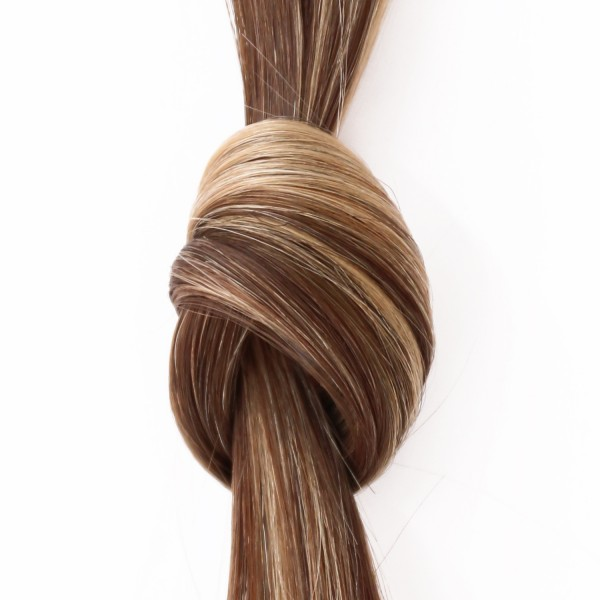 she by SO.CAP. Extensions #8/26 - 50/60 cm glatt bicolour (dark blonde/light golden blonde)