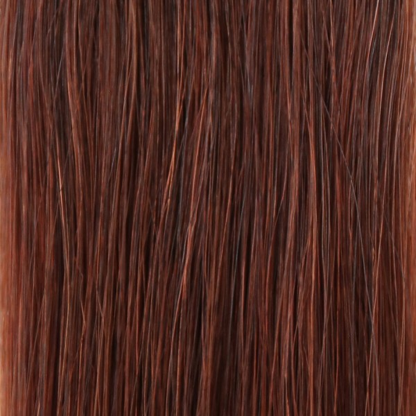 she by SO.CAP. Extensions #33 curly 35/40 cm (light mahagony chestnut)