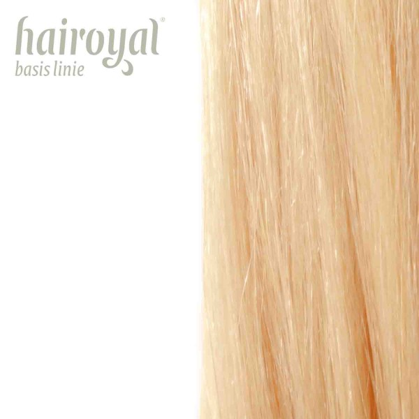 Hairoyal Extensions #20 straight (very light ultra blonde)