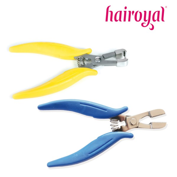 Hairoyal Compression and Removing Plier in one Set