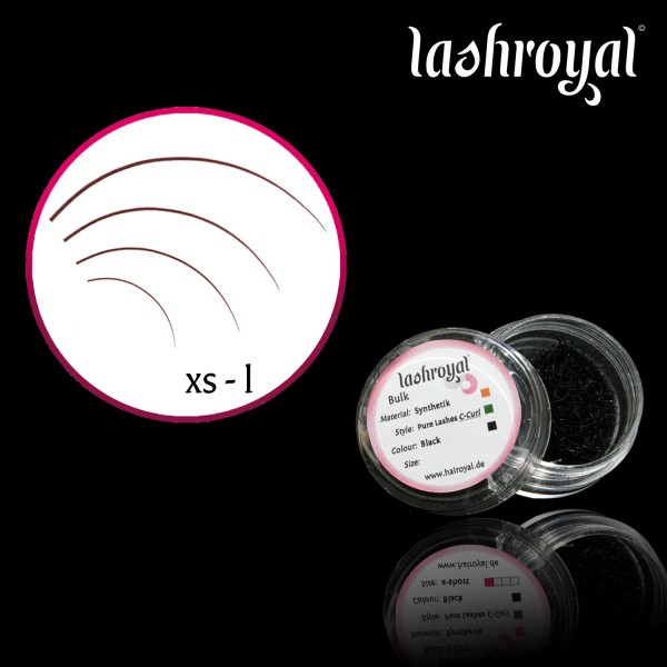 Lashroyal Synthetik PureLashes C-CURL - Strong Curl!