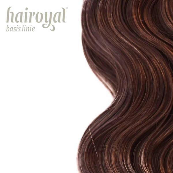 Hairoyal Extensions #4 wavy (chestnut)