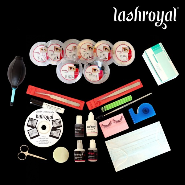 Lashroyal Starterkit Synthetic Pure Lashes (bulk lashes)