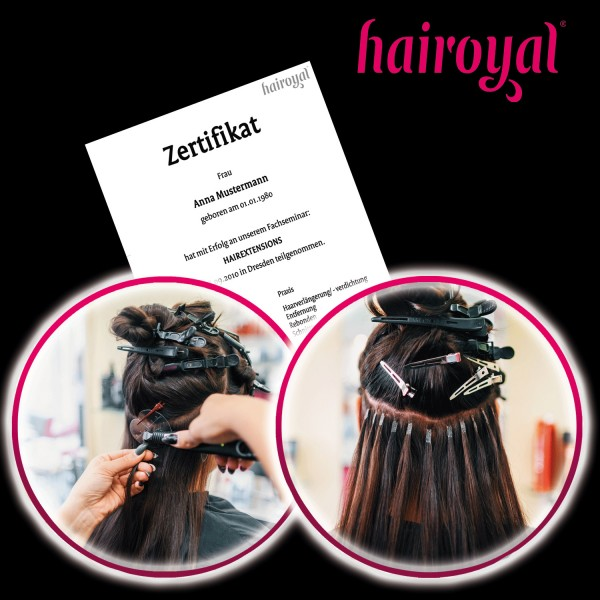 Hairoyal Training for Hair Extension