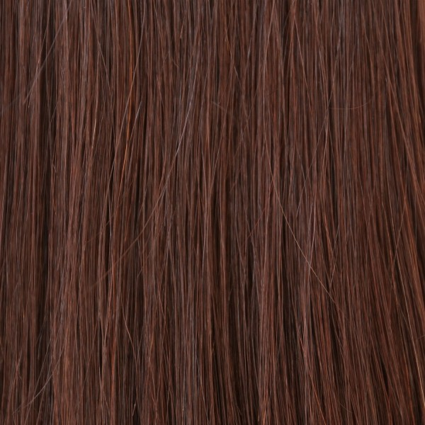 Hairoyal SkinWeft #4 straight (chestnut)