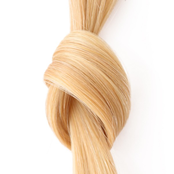she by SO.CAP. Extensions #140 - 35/40 cm straight bicolour (golden/ultra blonde)