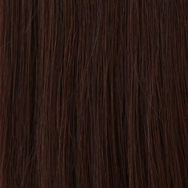 Hairoyal SkinWeft #2 straight (dark chestnut)