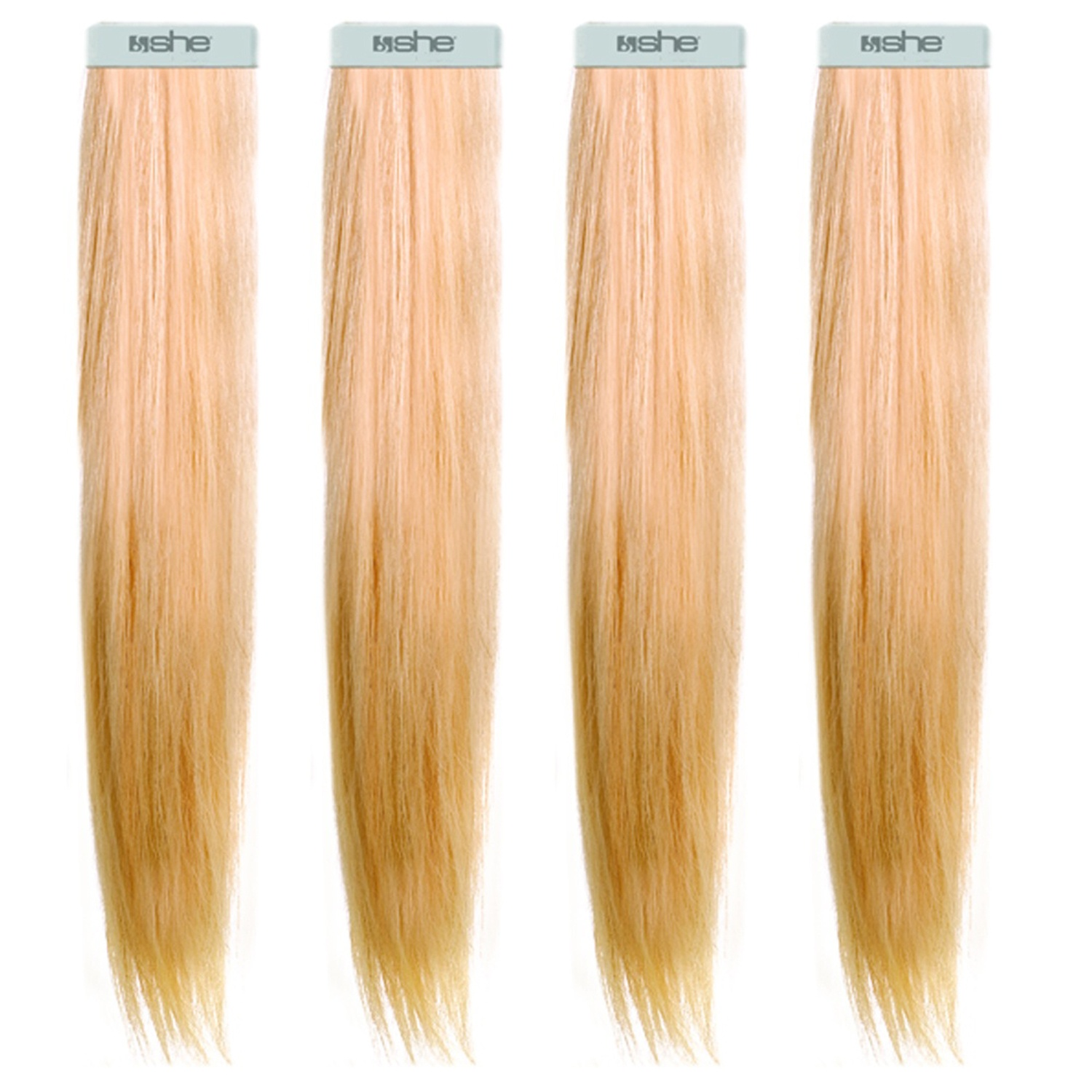she by SO.CAP. Tape Extensions 20   20/20 cm light blonde nature sand