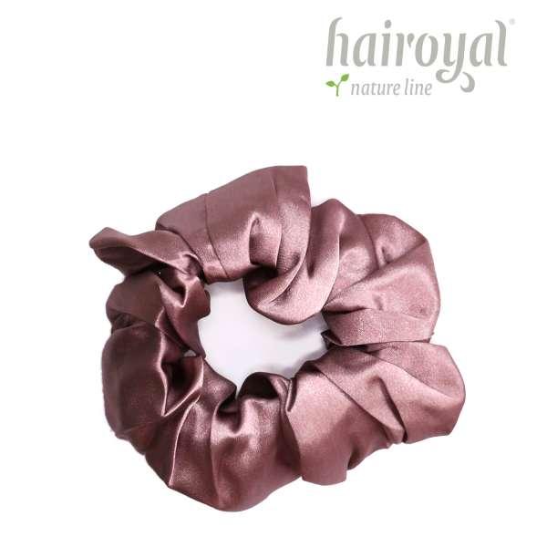 Scrunchie (100 % Maulbeerseide) - Medium/Large - Rosé