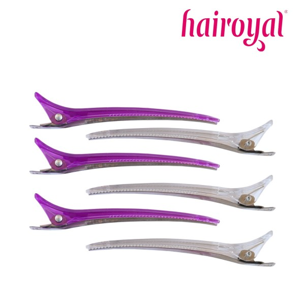 Hairoyal Control Clips 6 Pieces