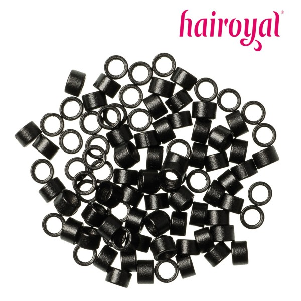 Hairoyal Microrings with screw inside