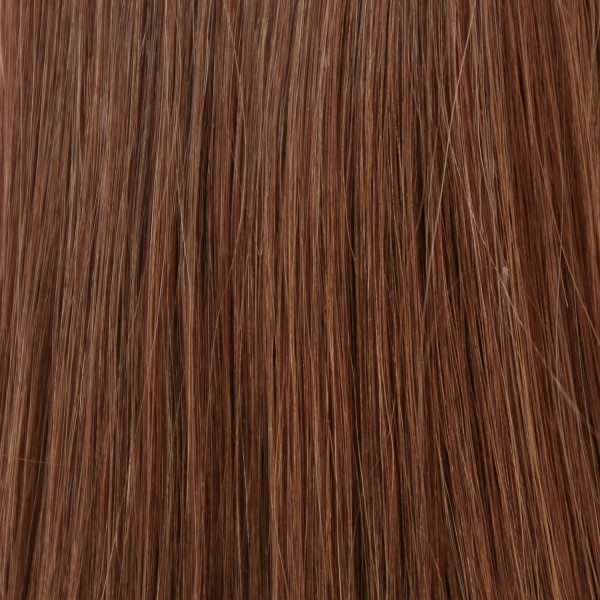 Hairoyal Clip-On-Weft-Set #8 straight (light brown)