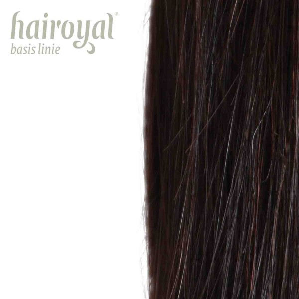 Hairoyal Extensions #2 straight (darkbrown)