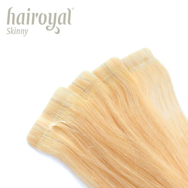 Hairoyal Skinny's - Tape Extensions straight #20 (very light ultra blonde)