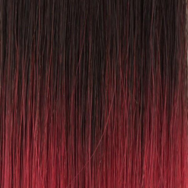 she by SO.CAP. Extensions #T1N/bordeaux - 50/60 cm Shatush Effect