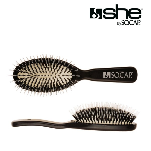she by SO.CAP. Professional Extensions Brush big - black