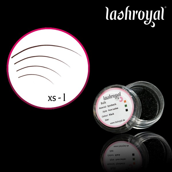 Lashroyal Synthetic PureLashes J-Curl - Natural Curl