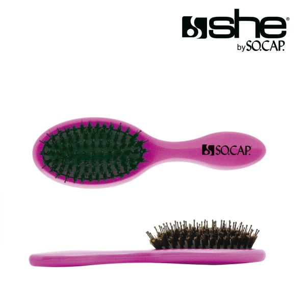 she by SO.CAP. Argan4U Hair Care Set + Pocket Brush for free
