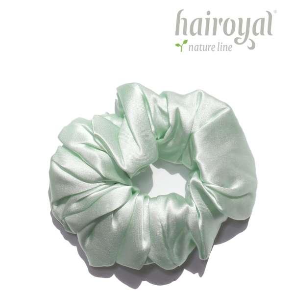 Scrunchie (100 % Maulbeerseide) - Medium/Large - Mint