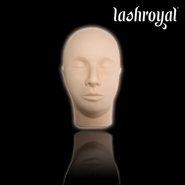Lashroyal Training Head incl. 1 Pair of Training Lashes