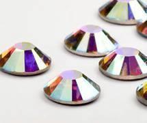 Swarovski Eyelash Crystals #Crystal Aurore Boreale 40 Pieces
