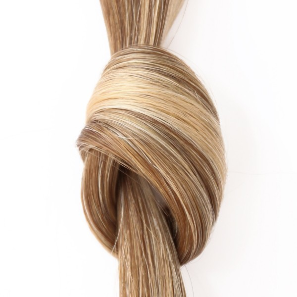 she by SO.CAP. Extensions #18/24 - 35/40 cm glatt bicolour (medium blonde/light blonde)