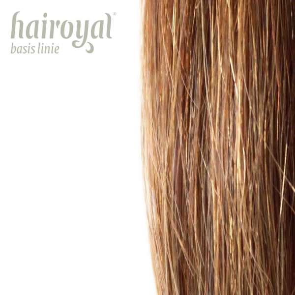 Hairoyal Extensions 40 cm #27 glatt (golden copper blonde)