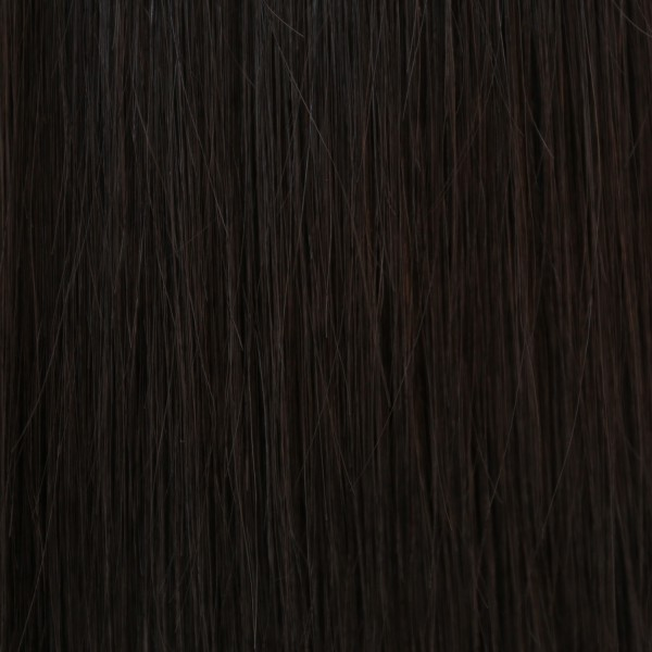 Hairoyal Clip-On-Weft-Set #1b straight (off black)