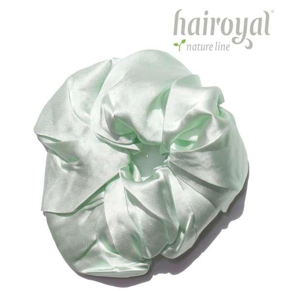 Scrunchie (100 % Maulbeerseide) - XLarge - Mint
